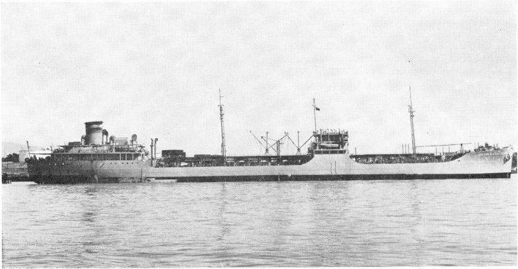 Mission Buenaventura-class transport oiler