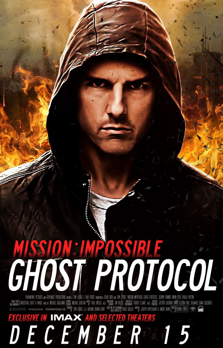 Mission: Impossible – Ghost Protocol Mission Impossible Ghost Protocol Poster by smrzy on DeviantArt