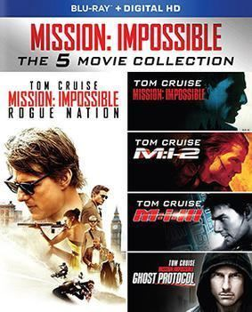 Mission: Impossible (film series) movie poster
