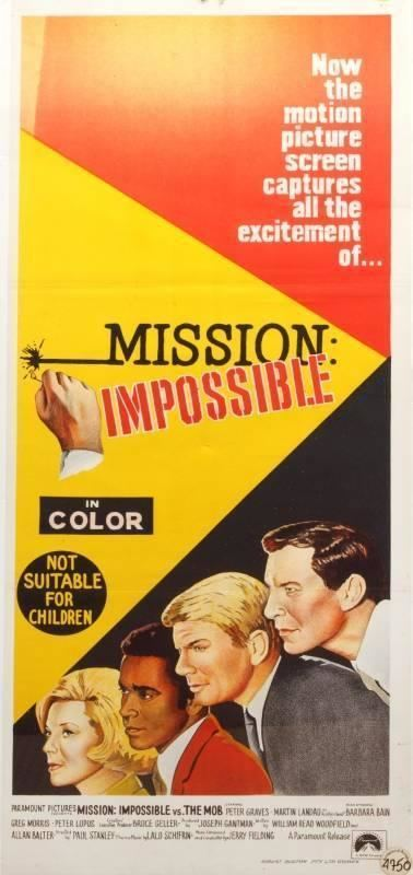 Mission: Impossible vs. the Mob MISSION IMPOSSIBLE VS THE MOB POSTER Current price 300