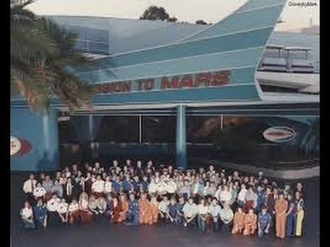 Mission to Mars (attraction) Mission to Mars Closing a Disneyland Attraction YouTube