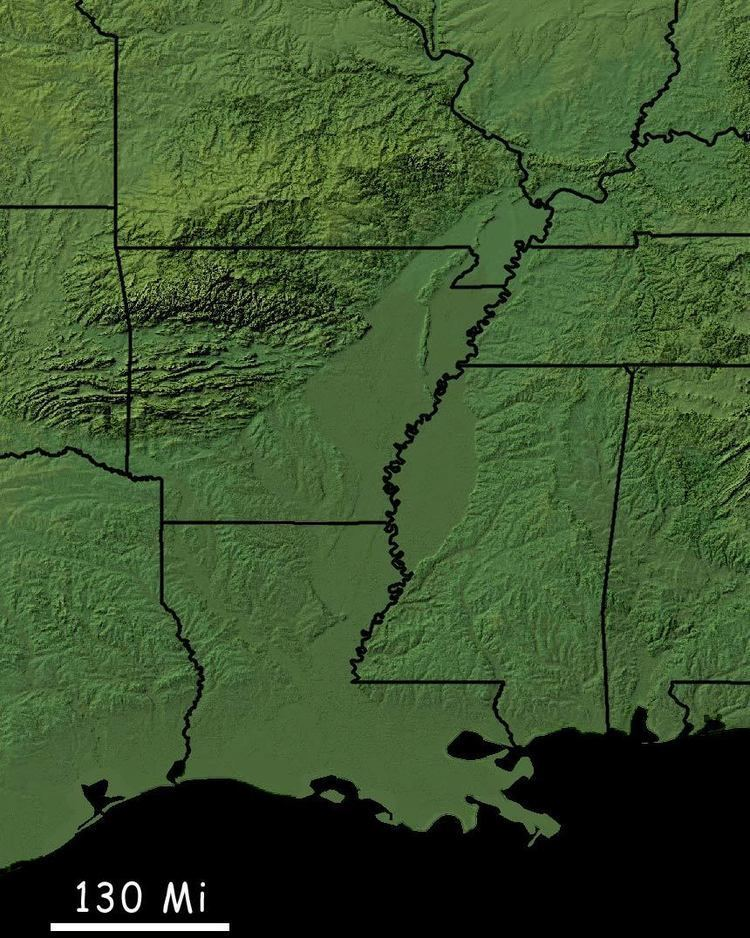 Mississippi embayment FileMississippi Embayment shadedrelief 1jpg Wikipedia