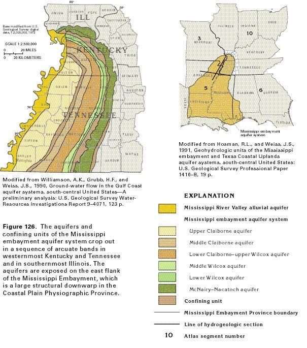 Mississippi embayment HA 730K Mississippi embayment aquifer system text