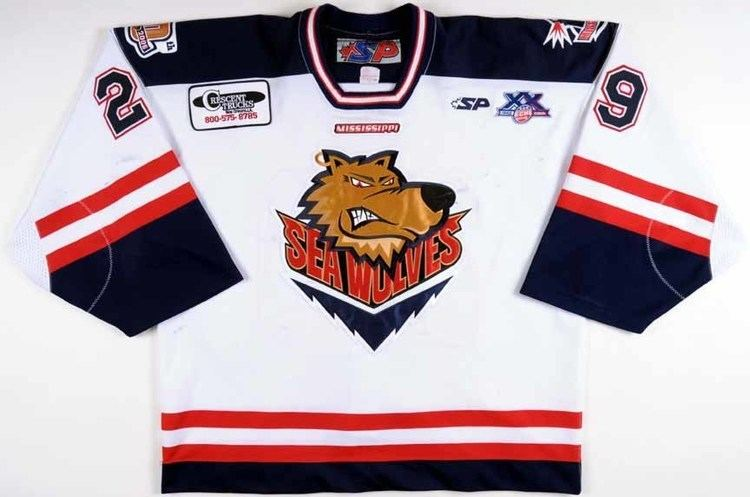 Mississippi Sea Wolves 200708 Morgan Cey Mississippi Sea Wolves Game Worn Jersey