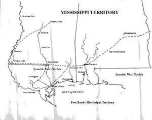 Mississippi Territory War of 1812 Mississippi Territory