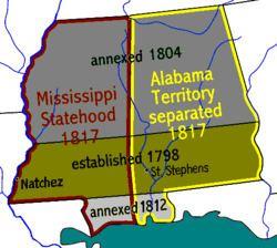 Mississippi Territory Mississippi Territory Wikipedia