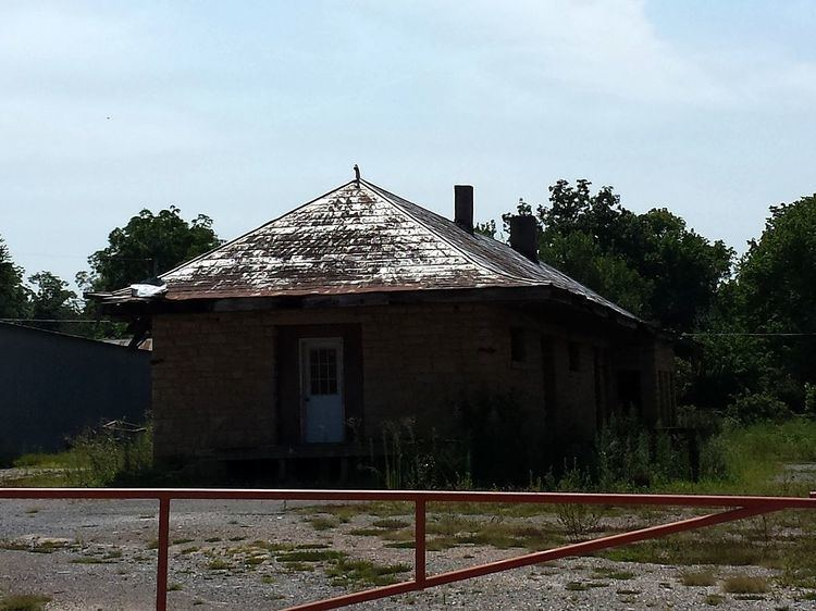 Missouri and North Arkansas Depot-Leslie