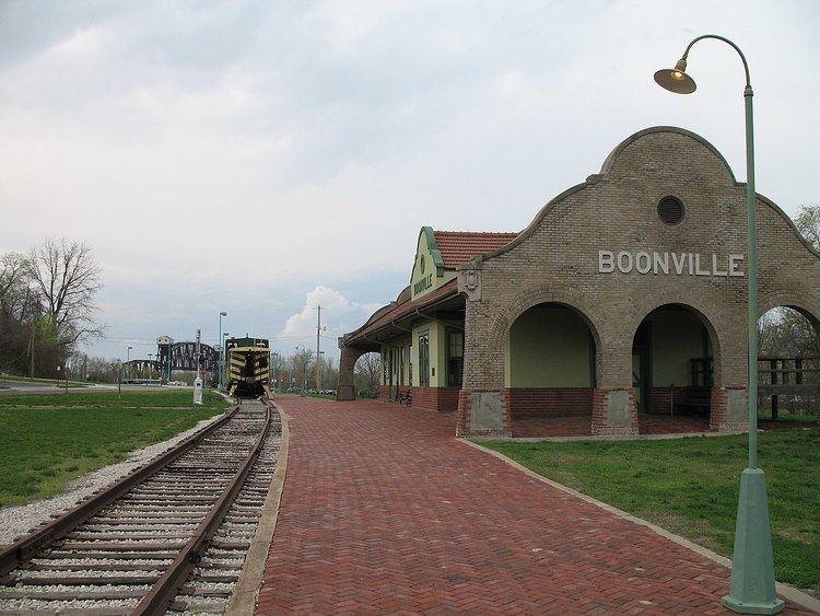 Missouri, Kansas and Texas Railroad Depot (Boonville, Missouri)
