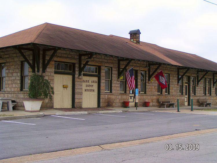Missouri-Pacific Depot-Ozark