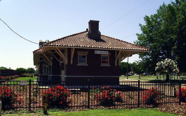 Missouri Pacific Railroad Depot-McGehee