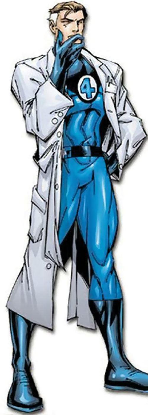 Mister Fantastic Mr Fantastic Marvel Comics Fantastic 4 Reed Richards