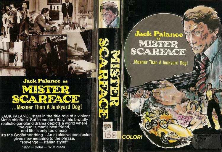 Mister Scarface Mister Scarface Vhs Jack Palance Accion Retro 1976 5000 en