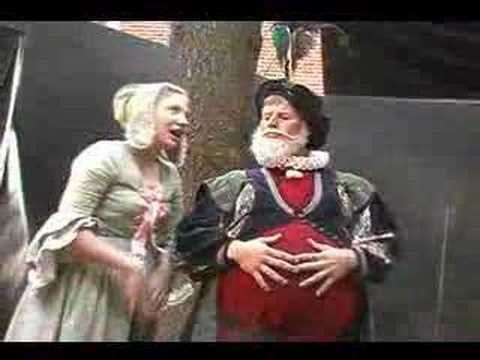 Mistress Quickly Mistress Quickly and Sir John Falstaff part 3 YouTube
