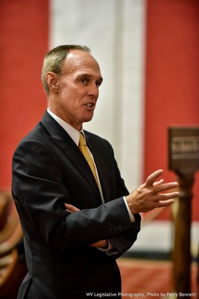 Mitch Carmichael Senate President Loses Job as Frontier Executive West Virginia