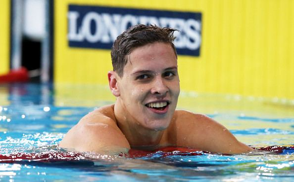 Mitch Larkin Mitch Larkin named International Swimming Federations male swimmer