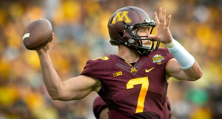Mitch Leidner Gophers QB Mitch Leidner a firstround NFL draft pick