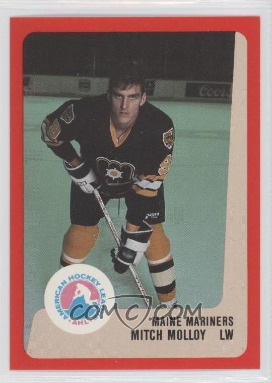 Mitch Molloy 198889 ProCards AHLIHL Base MIMO Mitch Molloy COMC Card