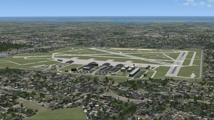 Mitchel Air Force Base Mitchel AFB Scenery Update 3 for FSX