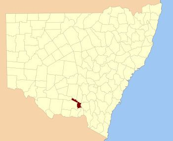 Mitchell County, New South Wales