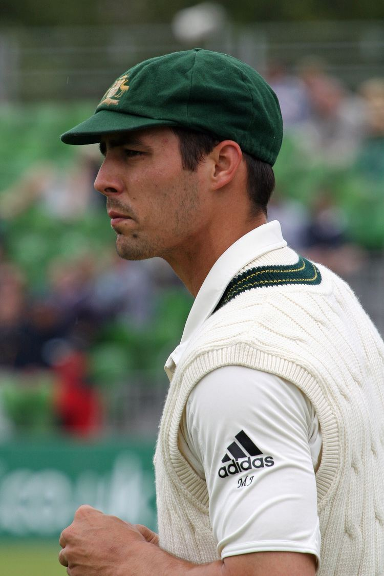 Mitchell Johnson (cricketer) Mitchell Johnson cricketer Wikipedia the free