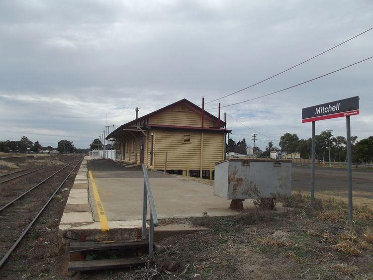 Mitchell railway station