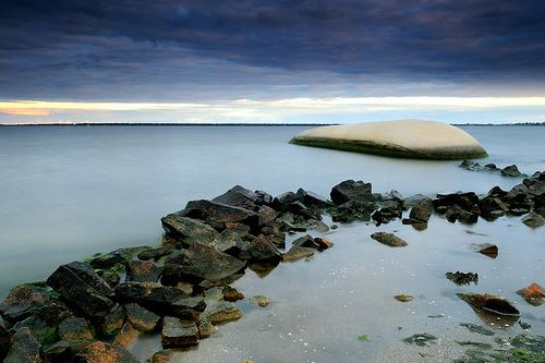 Mitchell River silt jetties scott thistlethwaite photography June 2010