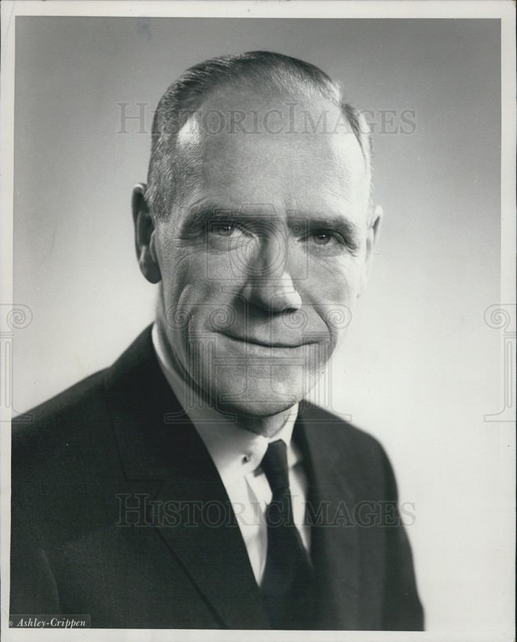 Mitchell Sharp 1963 Press Photo Honorable Mitchell Sharp Canada Minister Of Trade