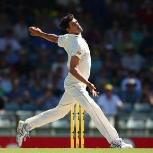 Starc bowls fastest ever test delivery SuperSport Cricket