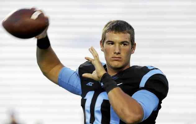 Mitchell Trubisky Area college notes North Carolina QB Mentor grad Mitch Trubisky in