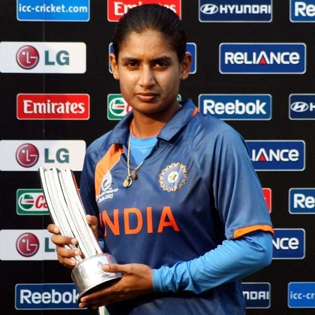 Mithali Raj MITHALI RAJ The Most Celebrated Female Cricketer Of India
