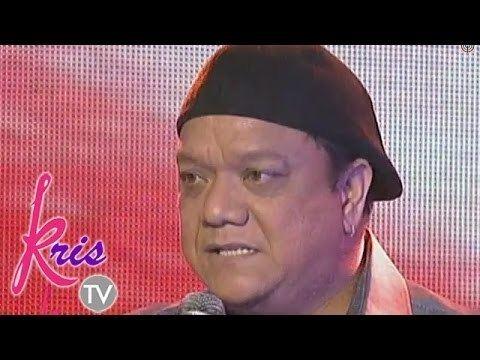 Mitoy Yonting Mitoy Yonting sings May Bukas Pa on Kris TV YouTube