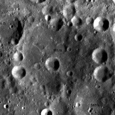 Mitra (crater)