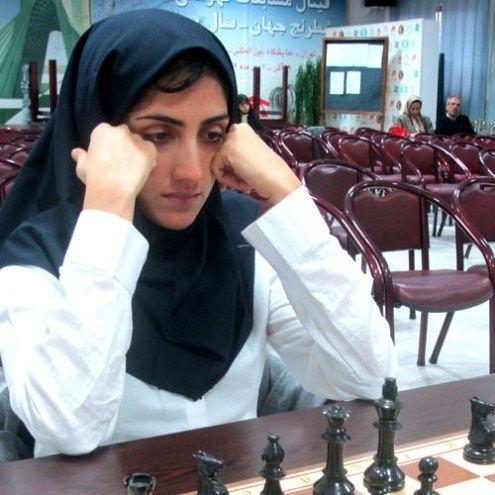 Mitra Hejazipour Iran Womens Championship 2012 WIM Mitra Hejazipour takes the title
