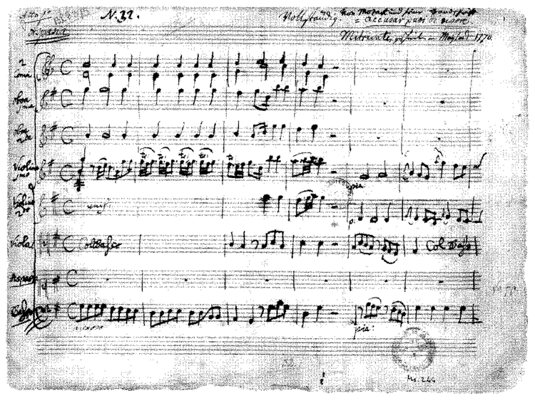 Mitridate, re di Ponto Mitridate r di Ponto K8774a Mozart Wolfgang Amadeus IMSLP