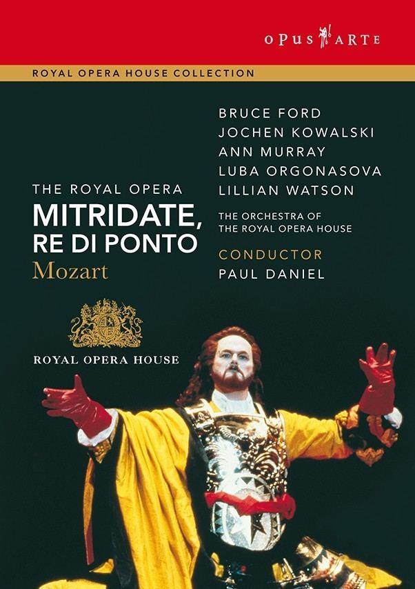 Mitridate, re di Ponto Mozart Mitridate re di Ponto DVD The Royal Opera Shop Royal