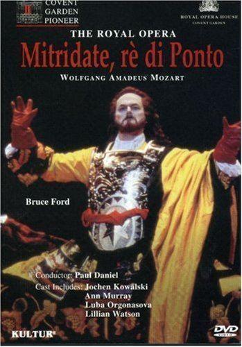 Mitridate, re di Ponto Amazoncom Mozart Mitridate r di Ponto Royal Opera House