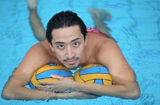 Mitsuaki Shiga Japanski vaterpolist Mitsuaki Shiga Split odlino Me happy