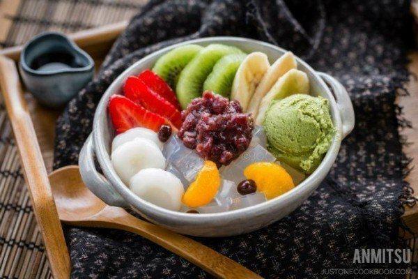 Mitsumame Fruits Mitsumame Just One Cookbook