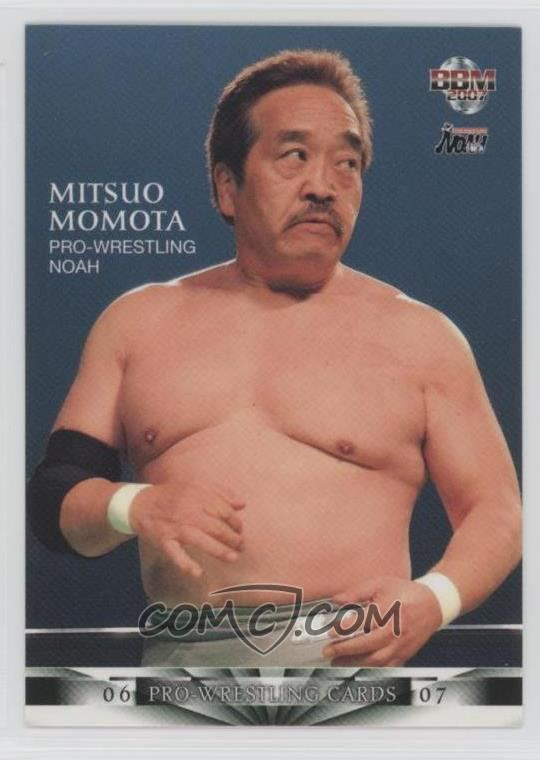 Mitsuo Momota Mitsuo Momota All Wrestling Cards COMC Card Marketplace