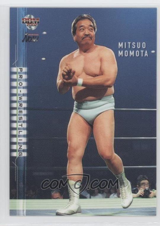 Mitsuo Momota 2002 BBM ProWrestling Base 220 Mitsuo Momota COMC Card
