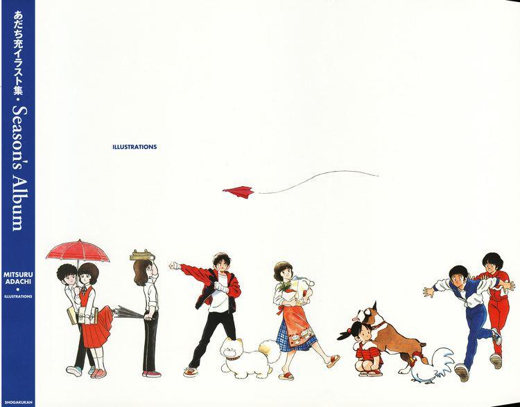 Mitsuru Adachi Adachi Mitsuru Zerochan Anime Image Board