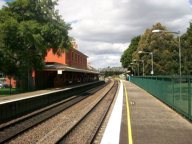 Mittagong railway station