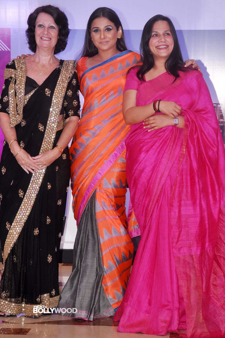 Mitu Bhowmick Lange Vidya amp Malaika at Indian Film Festival of Melbourne