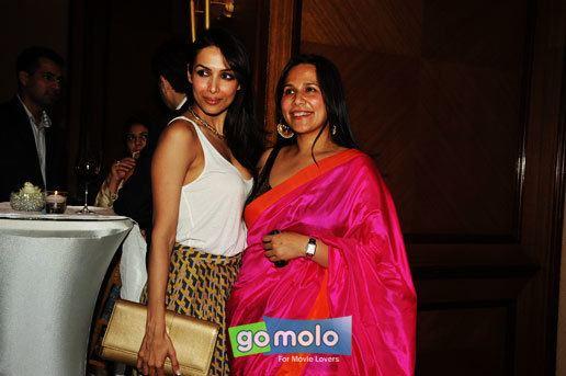 Mitu Bhowmick Lange Malaika Arora Khan Mitu Bhowmick Lange Press meet of