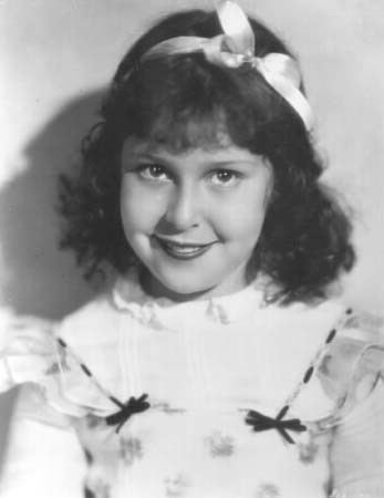 Mitzi Green Tim39s Mitzi Green Page in Bob39s Child Film Stars Photo