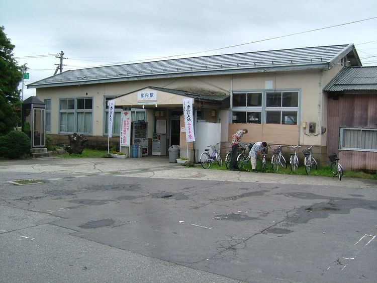 Miyauchi Station (Yamagata)