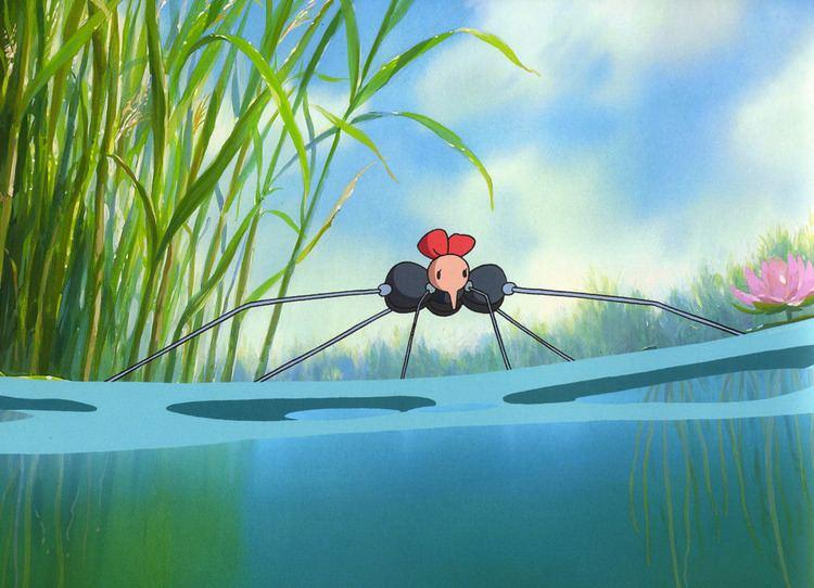 Mizugumo Monmon Studio Ghibli Water Spider Monmon Mizugumo Monmon