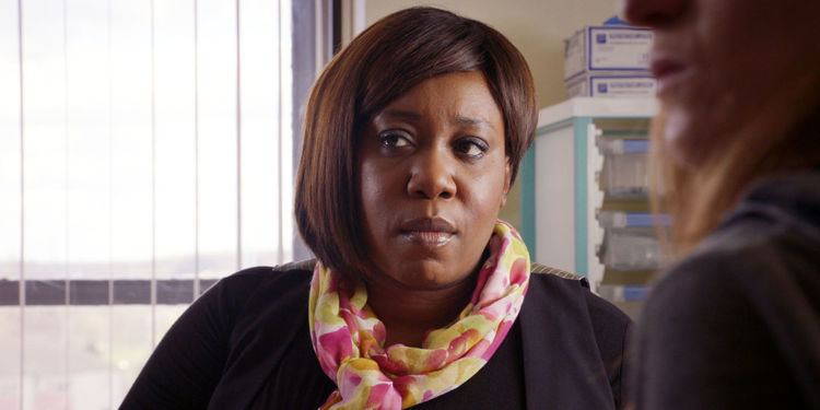 Mo Effanga Holby City spoiler 39Children of Men39