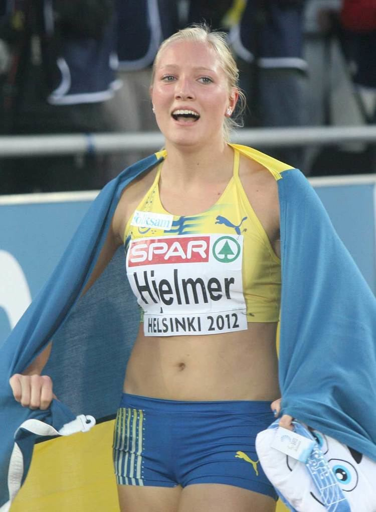 Moa Hjelmer European Athletics Swede victory for Hjelmer in the 400m