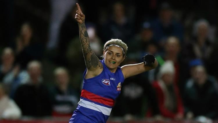 Moana Hope Women39s AFL exhibition game Moana Hope kicks six goals Western